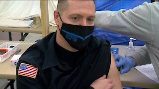 'I did the right thing': Waukesha County law enforcement get COVID-19 vaccines