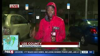Deborah live at Lee County Emergency operations center - Video