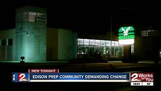 Edison Prep community meets over school incidents - Video