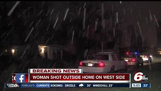 Woman critical after west side shooting - Video
