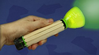 Make a Plastic Bottle Flashlight - Ultra Bright Torch  - Video