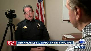 Douglas County Sheriff Tony Spurlock discusses shooting of deputies - Video