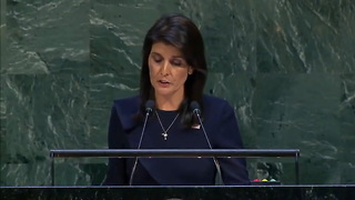 Nikki Haley Blasts UN Vote Against US on Cuba: 'Our Principles Are Not Up for a Vote' - Video