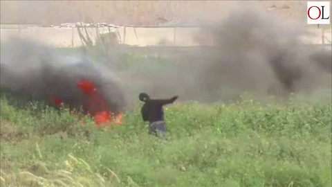 Violence in Gaza During Palestinian Protests