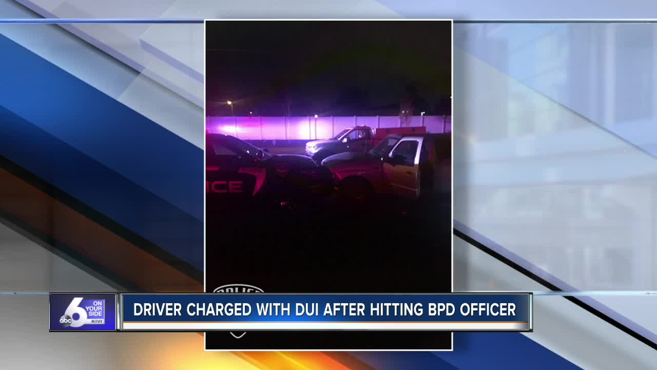 BPD officer hit by suspected drunk driver