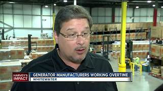 Wisconsin manufacturers are working overtime to fight against Hurricane Harvey - Video