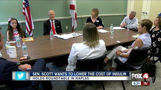 Patients talk about challenge of rising drug costs at roundtable with Sen. Rick Scott