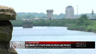 DPW begins work on Druid Lake project - Video