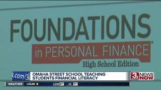 Omaha Street School teaches students about financial literacy