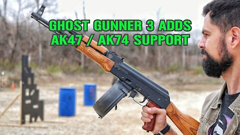 Ghost Gunner 3 Can Now Finish AK47 Receivers