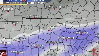 Lelan's Early Morning Forecast: Friday, January 6, 2017