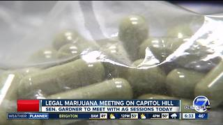 Senator Gardner to confront AG Jeff Sessions on marijuana - Video