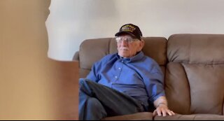 Happy birthday to WWII veteran Dean Whitaker