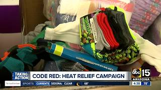 Code Red: Heat relief campaign in Phoenix