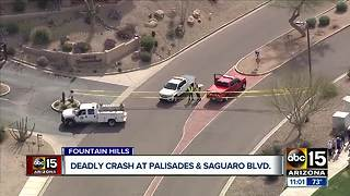 2 killed in Fountain Hills crash