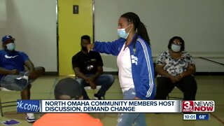 North Omaha community members host discussion, demand change