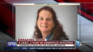 All five victims identified in Capital Gazette