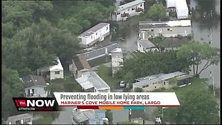 Preventing flooding in low lying areas - Video