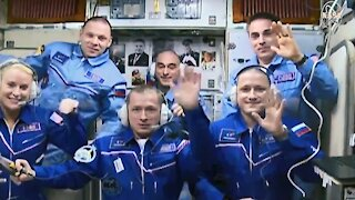 International Space Station Gets Three New Crew Members