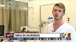 University of Cincinnati seeks more men for nursing school - Video