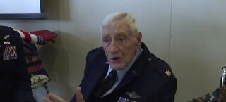 World War II veteran honored