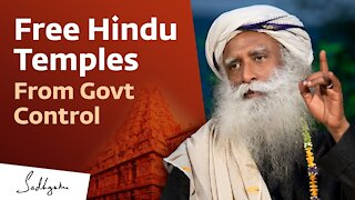 Free Hindu Temples From Govt Control