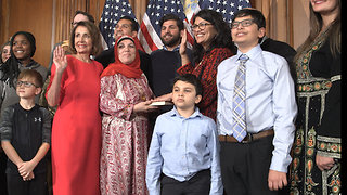 Newly Elected Rashida Tlaib Says 'We're Gonna Impeach the Motherf*cker' about Trump - Video