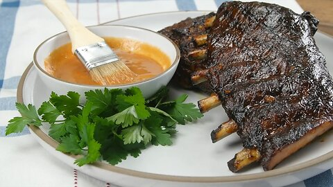Low-Carb Glazed Ribs