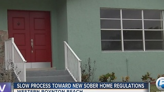 Slow process toward sober home regulations - Video