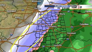 Accumulating snow is possible this weekend, but how much is all over the place - Video