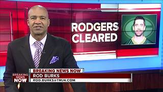 Rodgers: 'I've been medically cleared to return' - Video