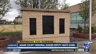 Adams County memorial honors Heath Gumm - Video