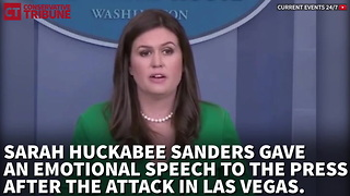 Huckabee Sanders Las Vegas - Video