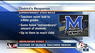 Dozens of Muncie teachers resign - Video