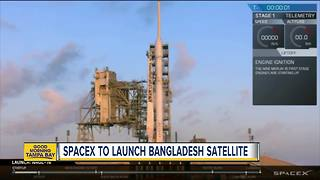 SpaceX to launch Bangladesh satellite