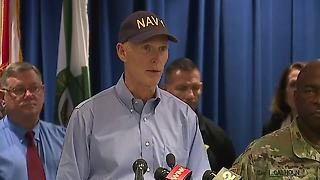 Florida Governor Rick Scott gives 3pm Hurricane Irma update Wednesday - Video