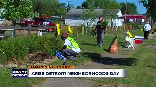 Arise Detroit! Neighborhoods Day - Video