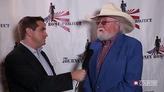 Charlie Daniels with Hunter Kelly talks about helping our troops | Rare Country - Video
