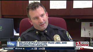 Bellevue Police Chief files lawsuits against police union