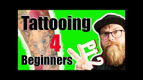 ✅Tattooing for Beginners: 👀How to tattoo color and more! 💥Part 2