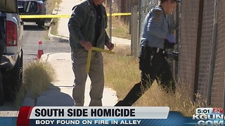 TPD investigating homicide on south side