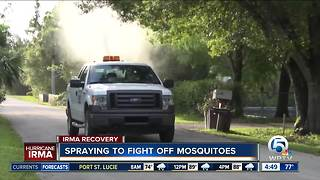 Mosquito spraying Tuesday in Palm Beach County - Video