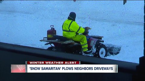 Cleveland man armed with snowplow is the city's newest hero
