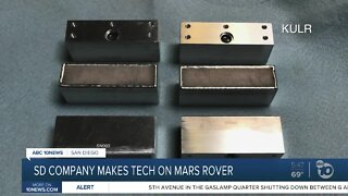 San Diego makes mark on Mars 2020 rover