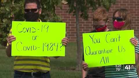 Some Blue Valley parents at odds with district's approach to quarantine directives
