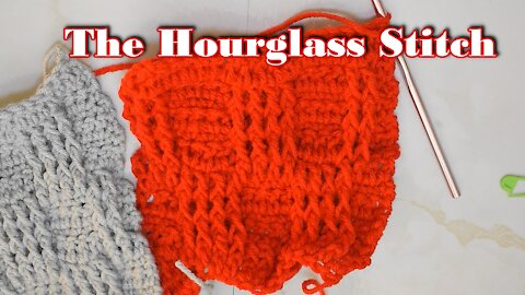 How to Crochet the Hourglas Stitch