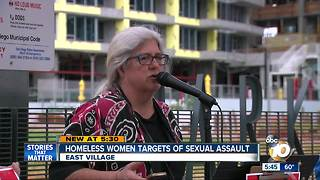 Homeless Women Targets of Sexual Assault - Video