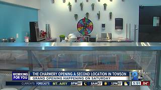 The Charmery is opening its second location in Towson - Video