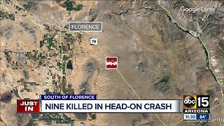 DPS: 9 killed in crash near Florence