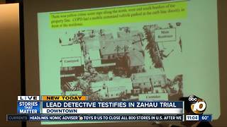 Lead investigator testifies in Zahau suit - Video